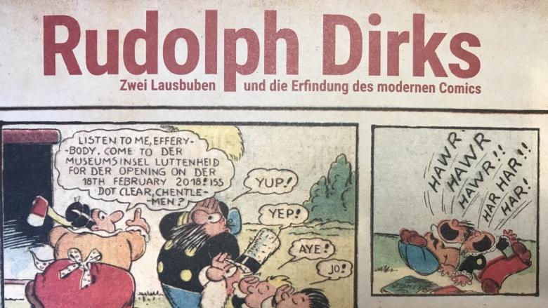 Comicautor Rudoph Dirks