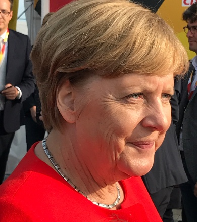 Angela Merkel in St.Peter-Ording