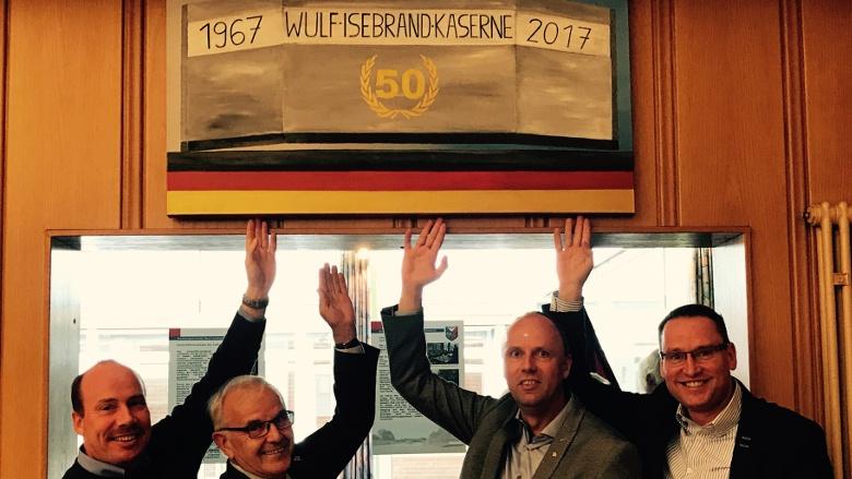 50 Jahre Wulf- Isebrand- Kaserne