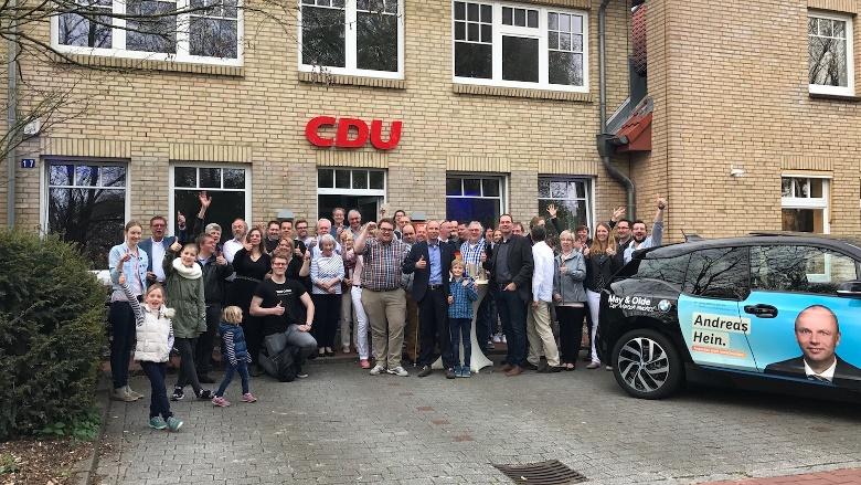 CDU Landtagswahlparty in Heide