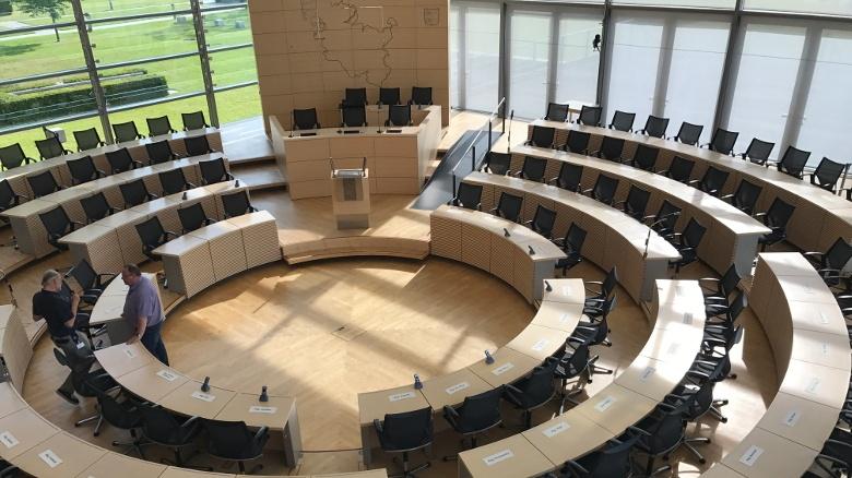 Meine erste Landtagssitzung!