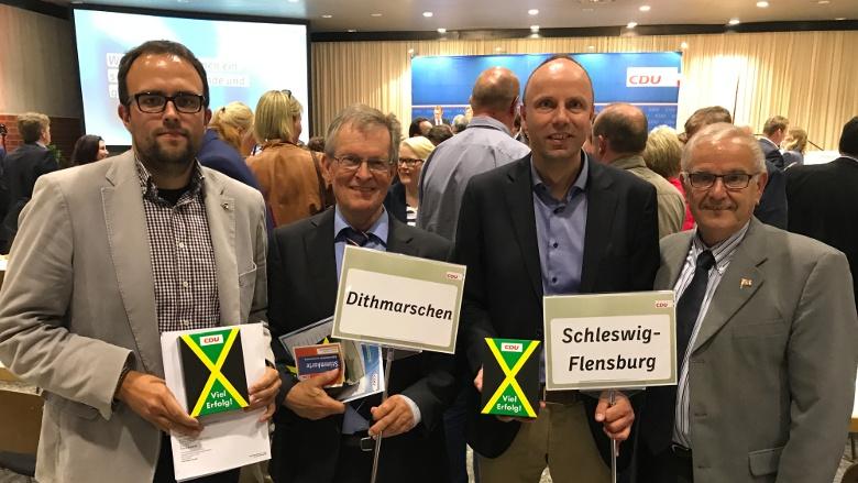 """Landesparteitag in Neumünster: Dithmarschen-Schleswig stimmt """"JAMAIKA"""" mit 100 % zu"""