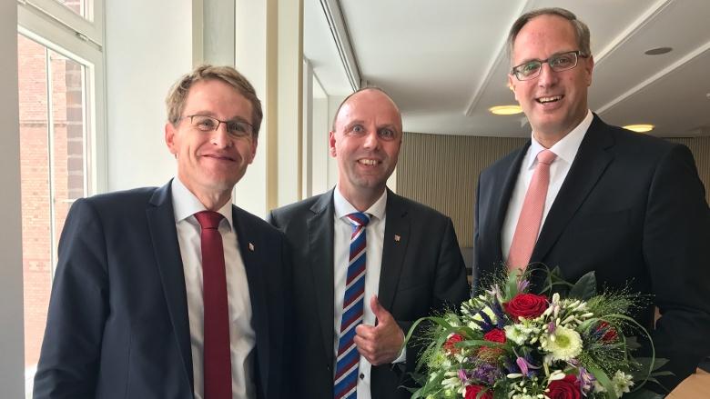 Mit unserem neuen Ministerpräsidenten und neuem Fraktionsvorsitzenden