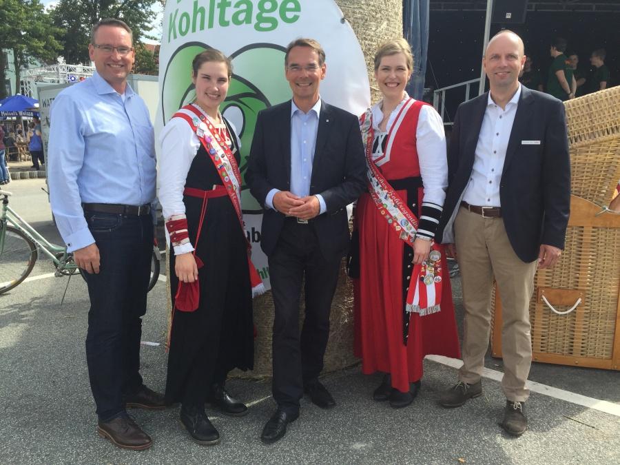 Dithmarschentag mit I. Liebing, Ulf Stecher & Kohlregentinnen - 03.09.16