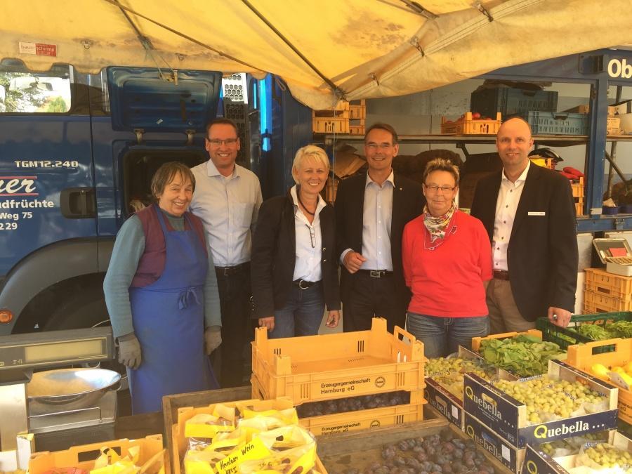 Wochenmarkt Kartoffel Bremer 03.09.16