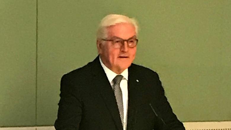 Unser Bundespräsident Frank- Walter Steinmeier