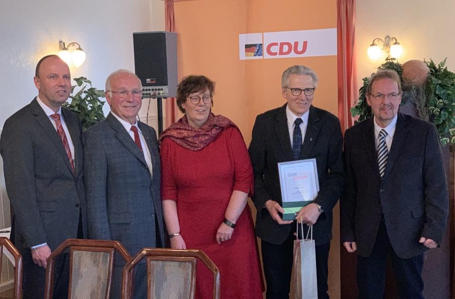25. Jahresempfang des Ortsverbandes Schuby/ Lürschau