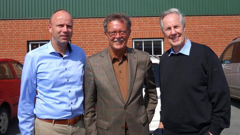 Die drei Landtagsabgeordneten der letzten Jahrzehnte: Bernd Steincke, Karsten Jasper und Andreas Hein.