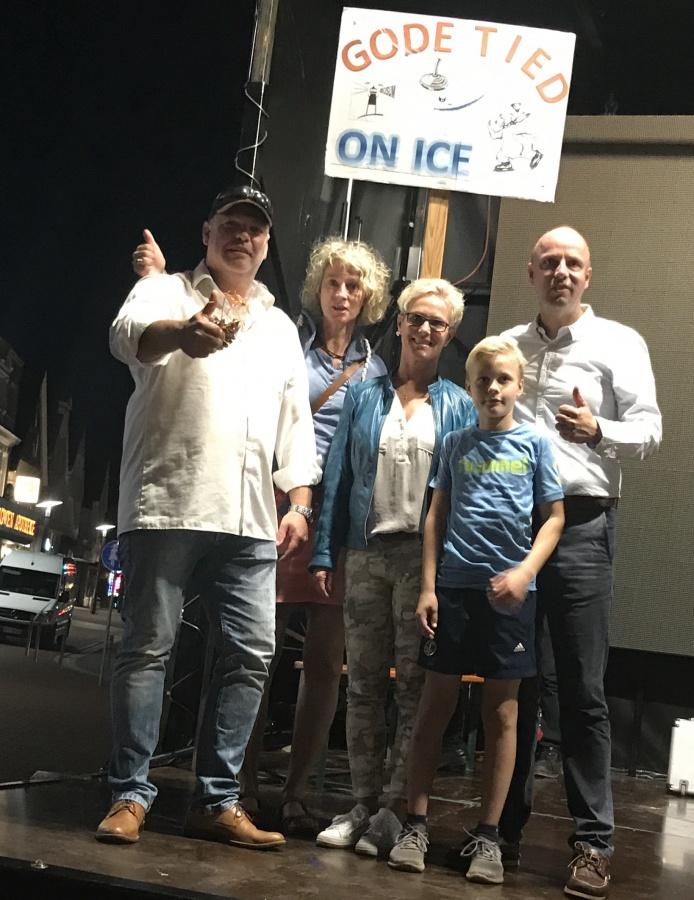 Auslosung Eisstockschießen
