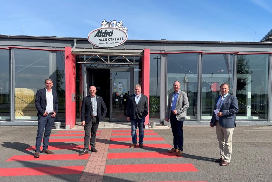 Besuch bei Firma Aldra in Meldorf