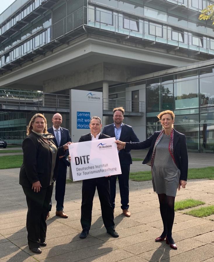 """Eröffnung des """"Deutschen Instituts für Tourismusforschung (DITF)"""""""