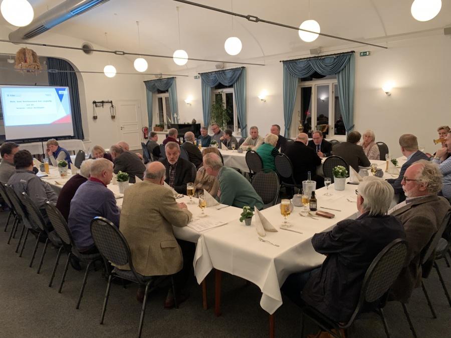 traditionelles Grünkohlessen des Bezirksverbandes Amt Langballig und der Senioren-Union Nordangeln