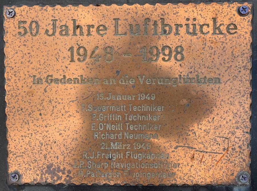 70. Jahrestag Luftbrücke
