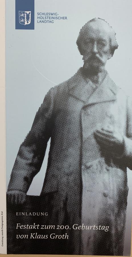 200. Geburtstag Klaus Groth