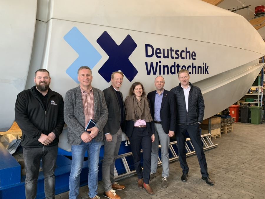 Deutsche Windtechnik in Viöl