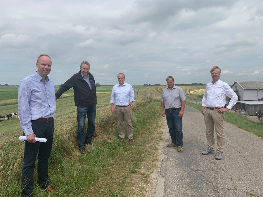 Umwelt- und Agrarausschuss zu Besuch in Dithmarschen