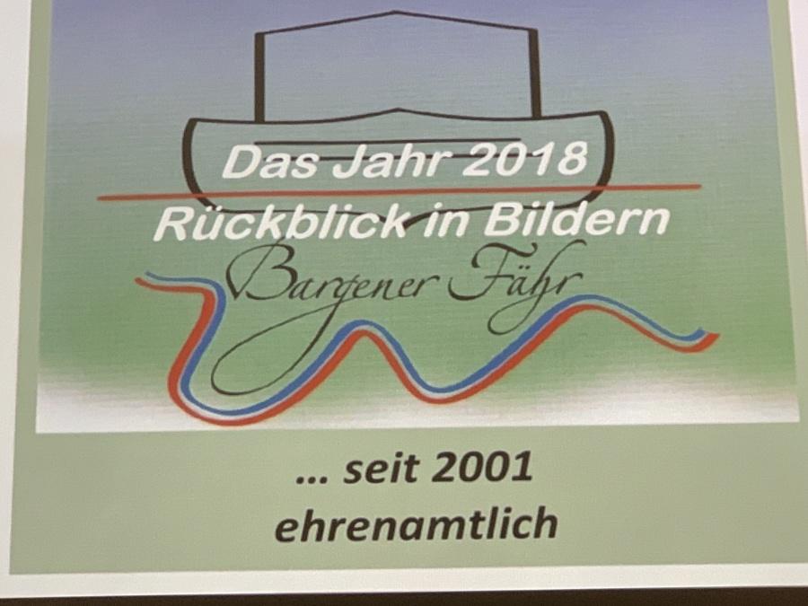Jahreshauptversammlung Bargener Fähre e.V.
