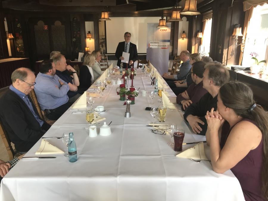 Politik und Schleswig-Holsteinische Küche
