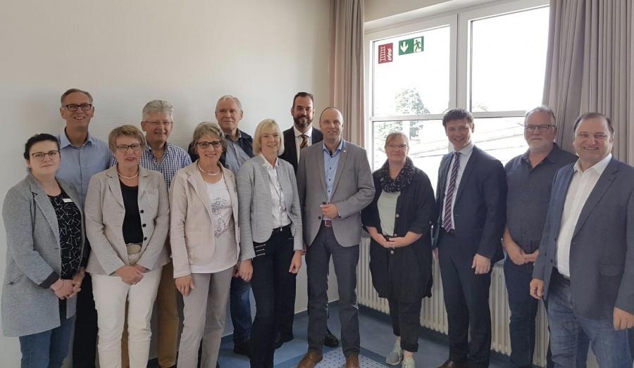 Treffen mit dem Schulausschuss-Amt Eider