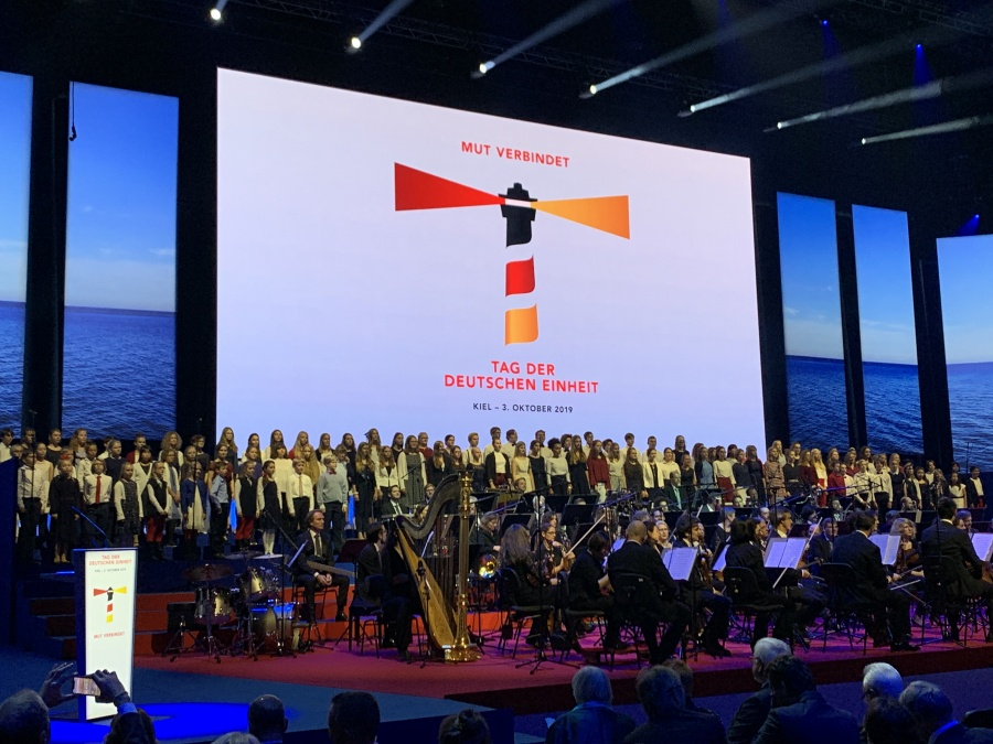 Festakt zum Tag der Deutschen Einheit in Kiel