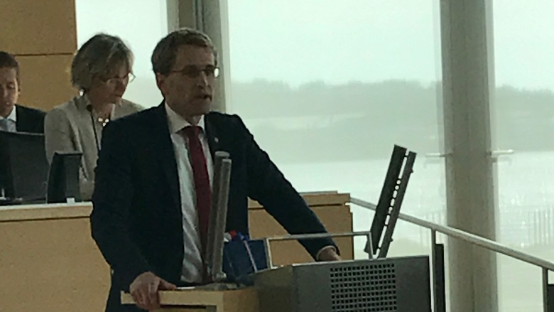 Wahl des Ministerpräsidenten Daniel Günther