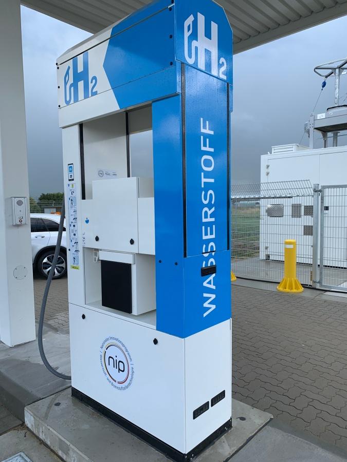 Wasserstofftankstelle in Brunsbüttel