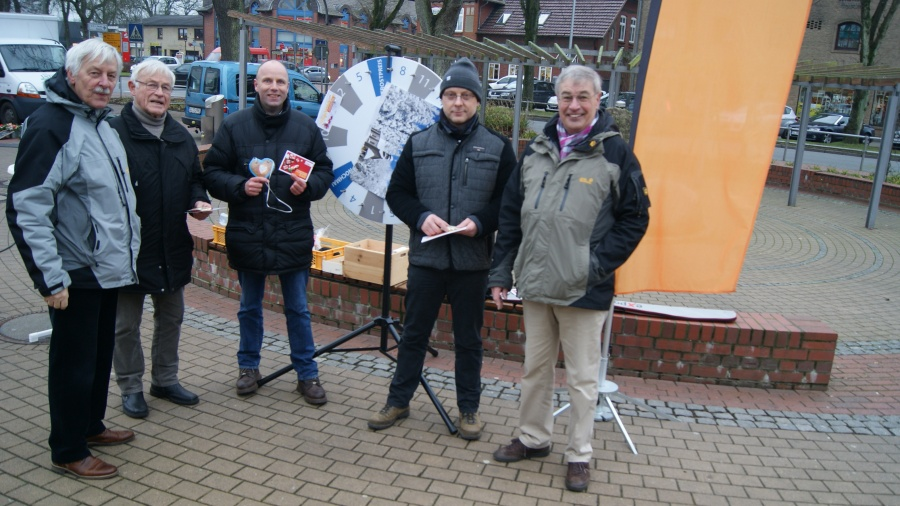 Weihnachts-Canvassing in Kropp am 16.12.16