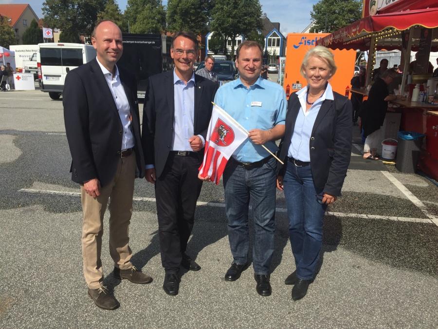 Dithmarschentag mit I.Liebing V.Nielsen und A.Damerow 03.09.16