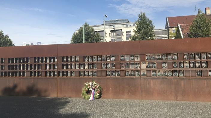Gedenken der Opfer der Berliner Mauer