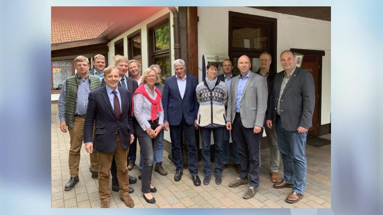 Vorstände vom Bauernverband Schleswig und Flensburg