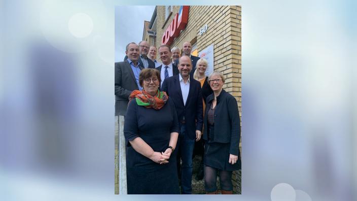 Europaabgeordneter Niclas Herbst eröffnet sein neues Büro in Schleswig