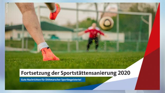 Sportstättensanierung 2020