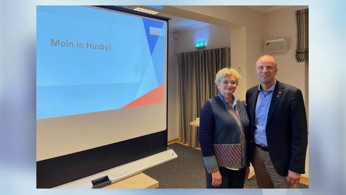 Wasserstoff-Vortrag in Husby
